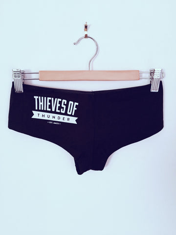 Thieves Of Thunder Black Basic Briefs