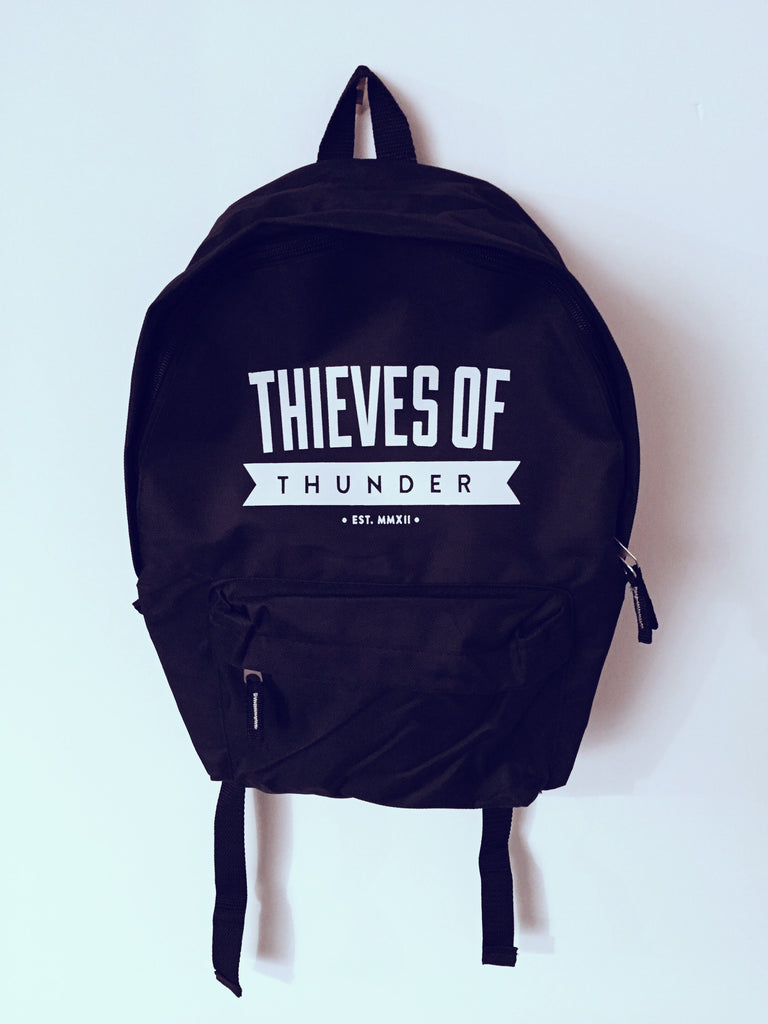 Thieves Of Thunder Black Backpack