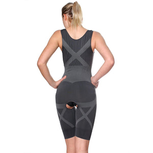 Fullness Womens Bamboo Natural Fiber Magic Slim Body Full Body Suit Shaper - ellemore.com