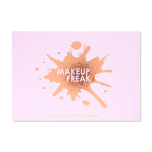 Makeup Freak Amour 35 Color Pigmented Eyeshadow Palette with Glitter Spring
