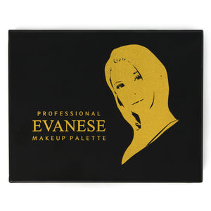 Evanese Professional Beauty Makeup 12 Color High Pigment Eyeshadow Palette Glit