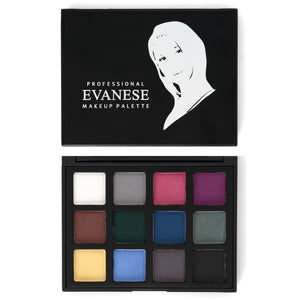 Evanese Professional Beauty Makeup 15 Color High Pigment Cream Eyeshadow Palette