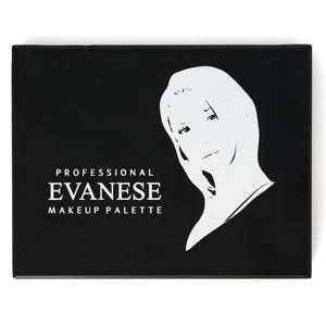 Evanese Professional Beauty Makeup 12 Color High Pigment Eyeshadow Palette Gray