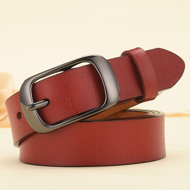RF Smart Belt DINISITON New Women Genuine Leather Belt