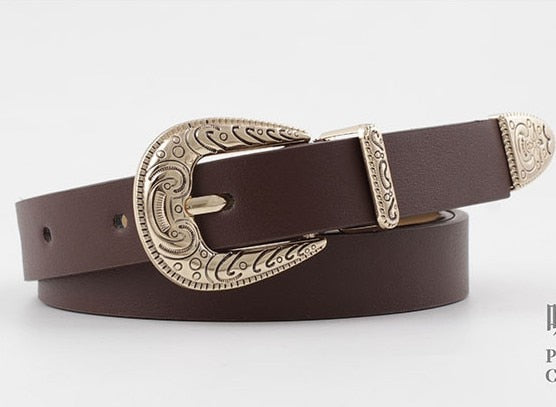 RF Smart Belt Fashion Hirigin Women Belts Ladies
