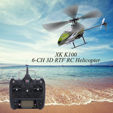 SKY TRACKER XK K100 RTF 6CH  3D 6G System Falcon K100 RC Helicopter