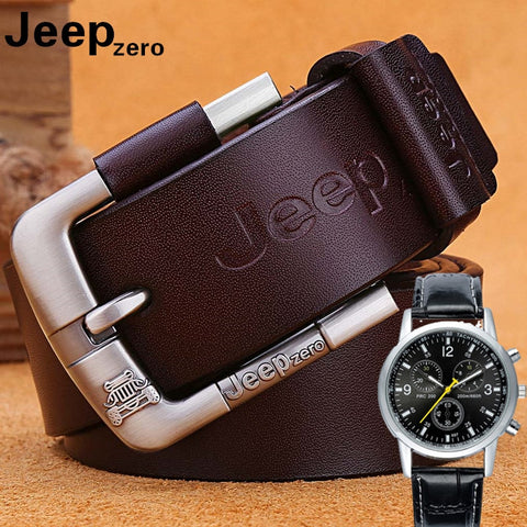 RF Smart Belt Designer Jeep  Leather