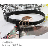 RF Smart Belt 2020 fashion belts for women waist pearl