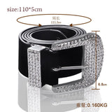 RF Smart Belt Fashion waist chain belt gold metal belts