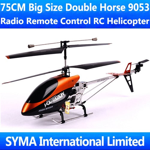 SKY TRACKER 75CM 3.5CH Gyro  Double Horse 9053 Radio Helicopter