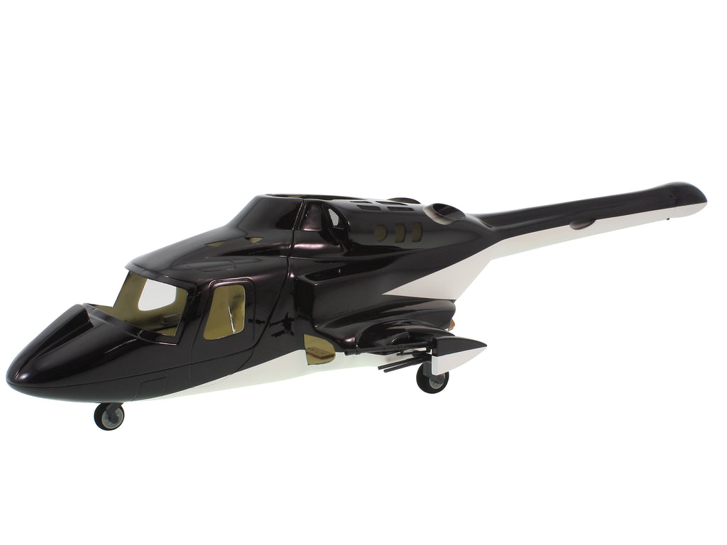 SKY TRACKER Airwolf 450 v3 fuselage for Bell 222 helicopter