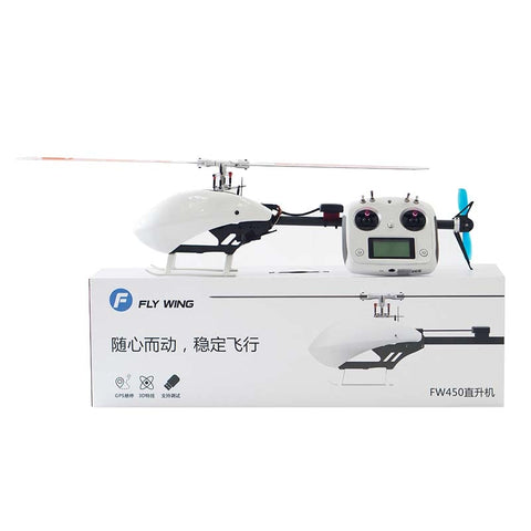 SKY TRACKER 3D RTF 6CH RC Smart Helicopter FW450