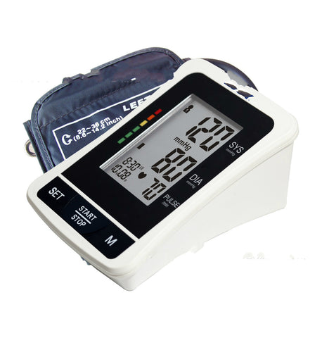 RF Smart Health Bloodpressure Sphygmomanometer Upper Arm Electronic Monitor