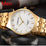 RF ICONIC CHENXI Gold Quartz Watches