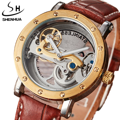 RF ICONIC Mechanical Watches Men Brand Luxury Gold