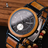 AnAvLiNa Relogio Masculino BOBO BIRD Wooden Men Watches