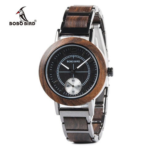 AnAvLiNa les montres BOBO BIRD Wooden Men Watches