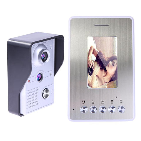 RF SAFEZONES Door Phone Doorbell Camera Night Vision