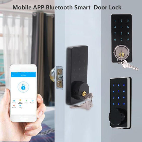 RF SAFEZONES - SMART Electronic Door Password Lock Mobile