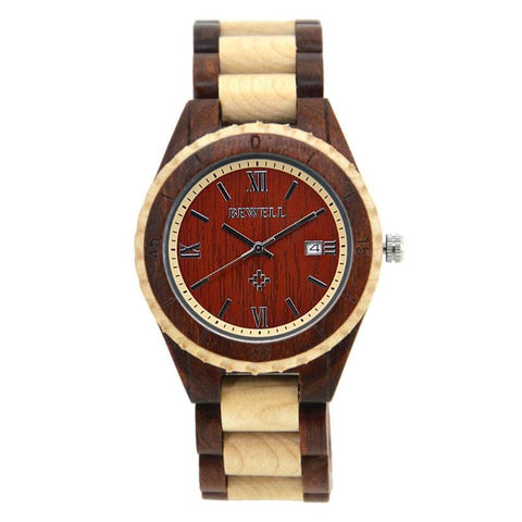 AnAvLiNa Casual Men/Women Teen Retro Wood Quartz Watches