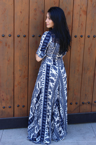 MIDNIGHT KISS BOHO MAXI