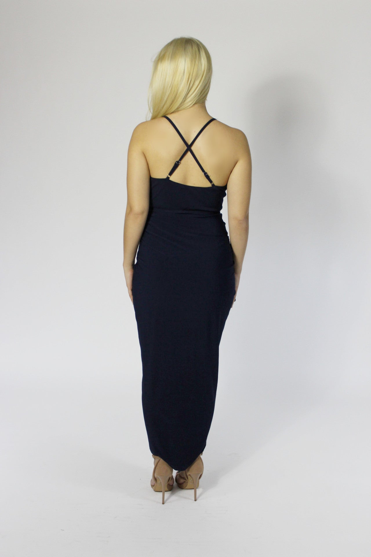 Love Like This Blue Navy Cocktail Dress