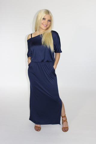 River Moonlight Maxi Dress - Mod Owl