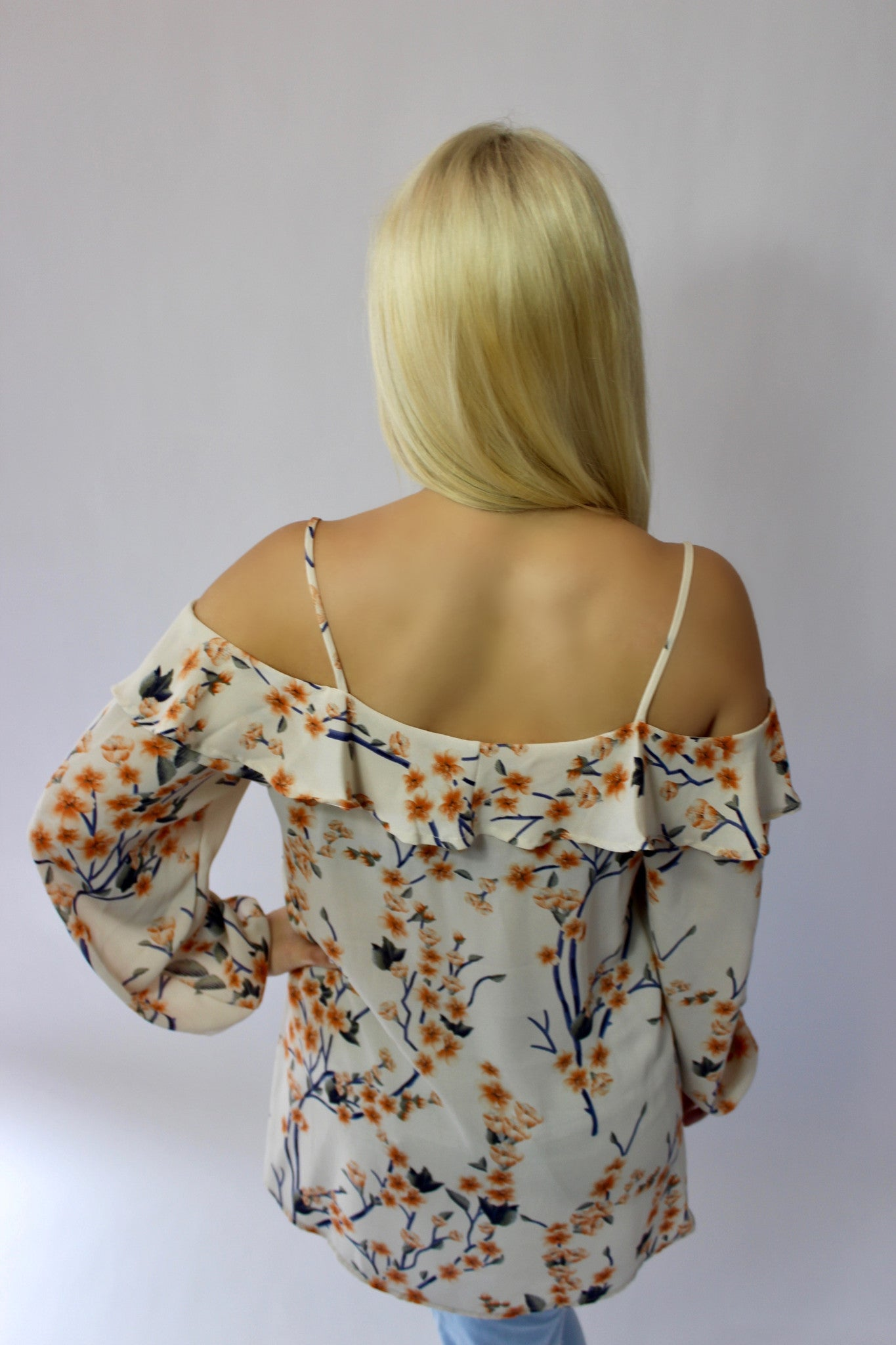 Birdie Off the Shoulder Tunic Top - Mod Owl