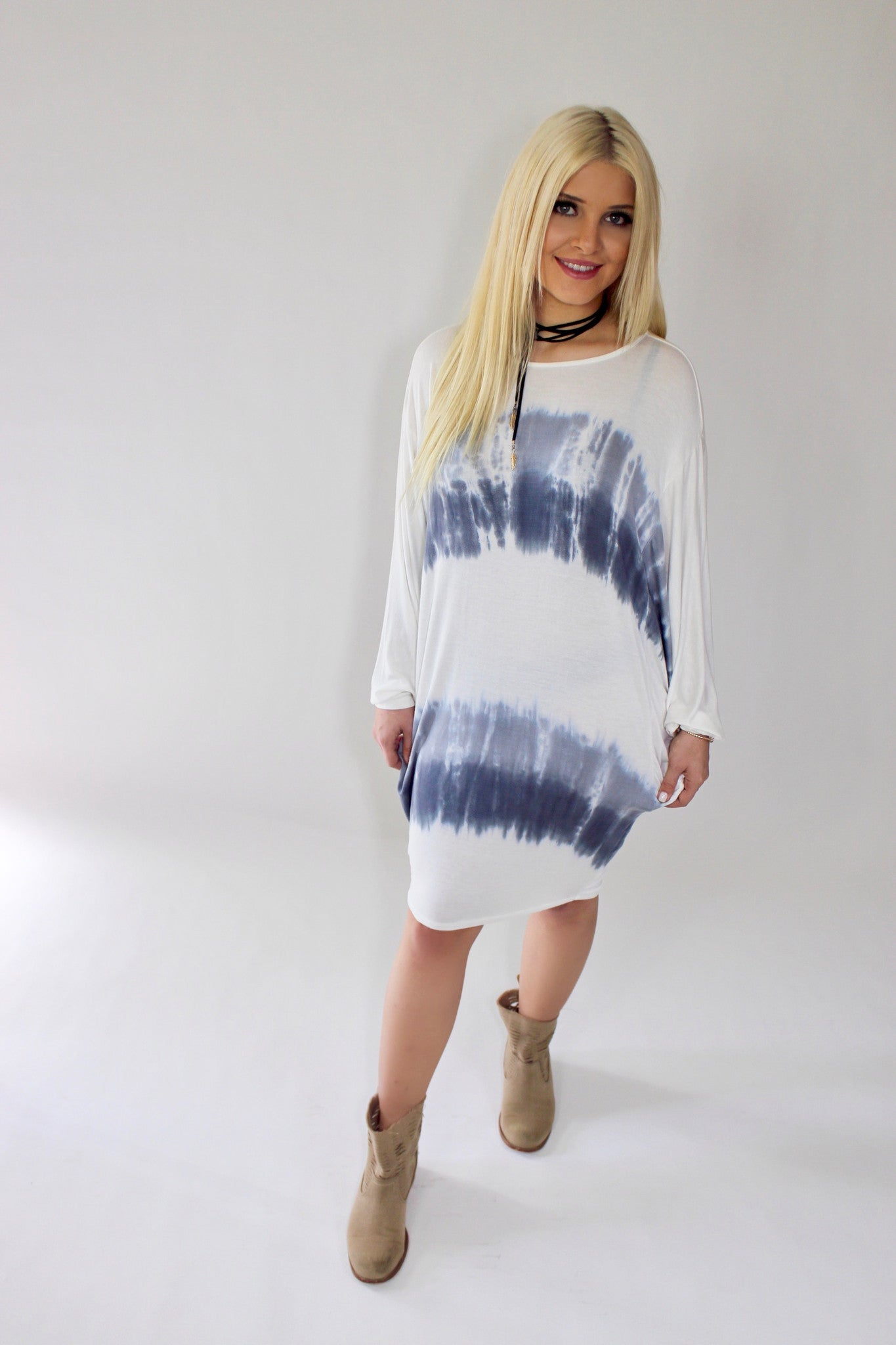 Tie Dye for this Dress