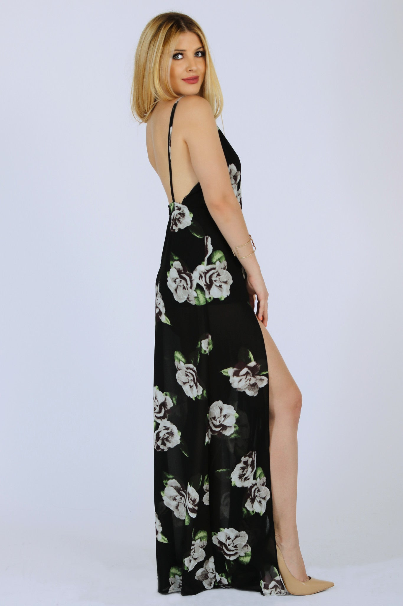 NIGHT QUEEN MAXI DRESS