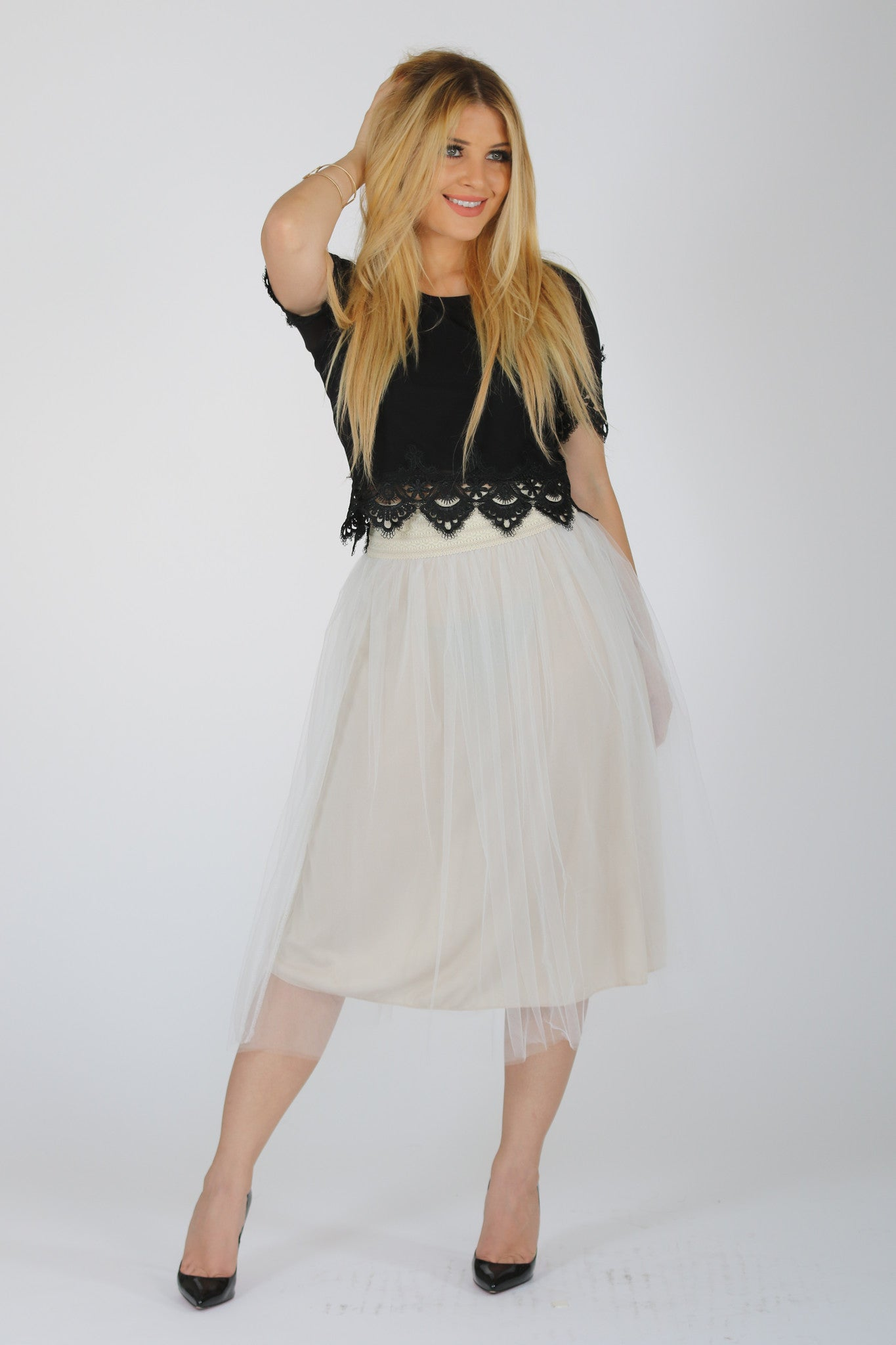 TULLE LOVE SKIRT