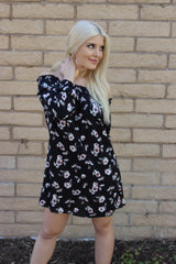 Chateau de Flora Off the Shoulder Dress - Mod Owl