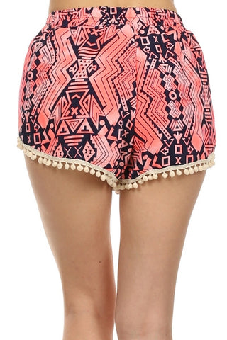SHAKE YOUR POM POMS SHORTS