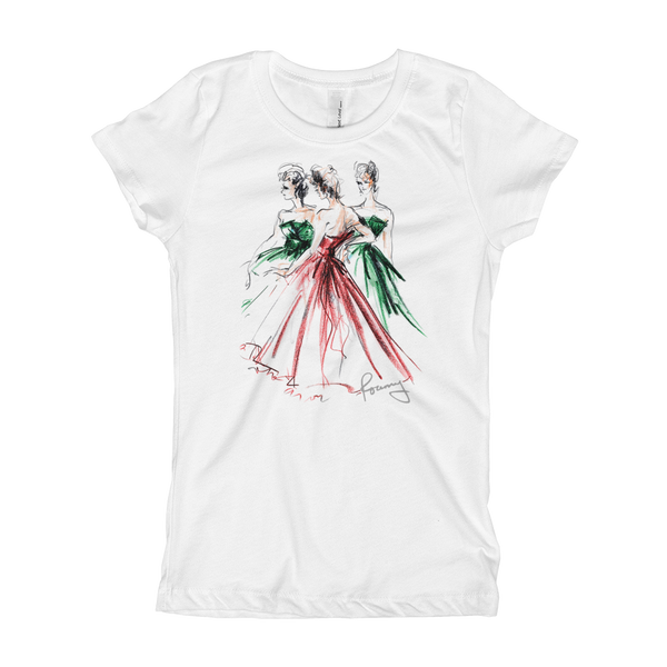 Rosemary Fanti Fashion Illustration T-Shirt