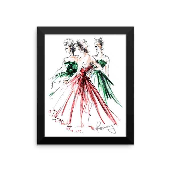 Rosemary Fanti Fashion Illustration Print