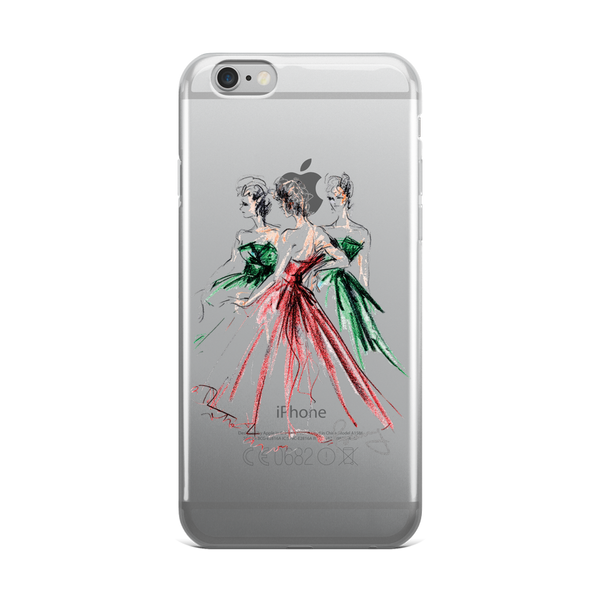 Rosemary Fanti Fashion Illustration iPhone Case