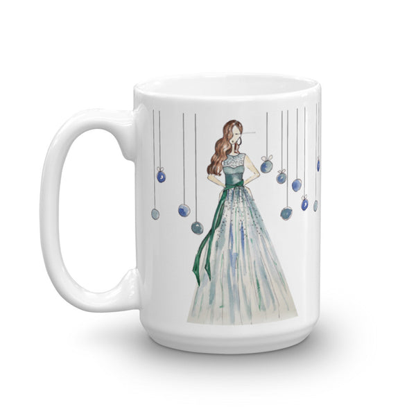 Girl in the Green Dress Mug