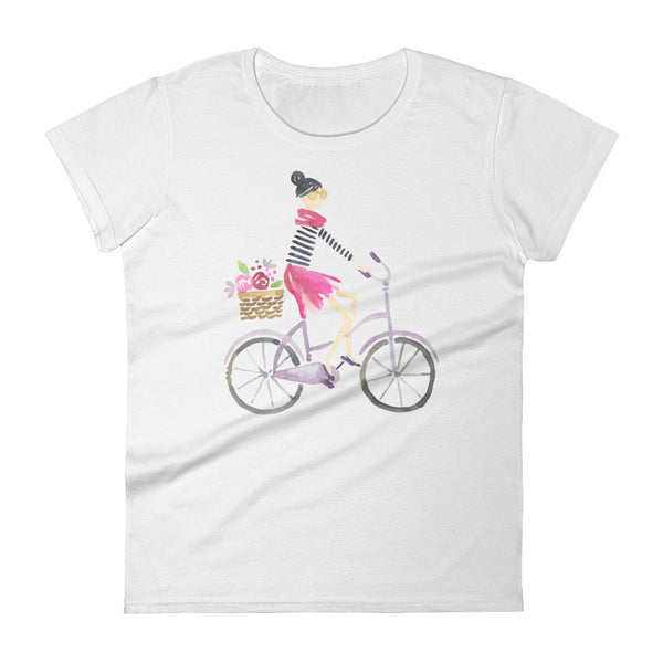 Paris in Spring Women's short sleeve t-shirt