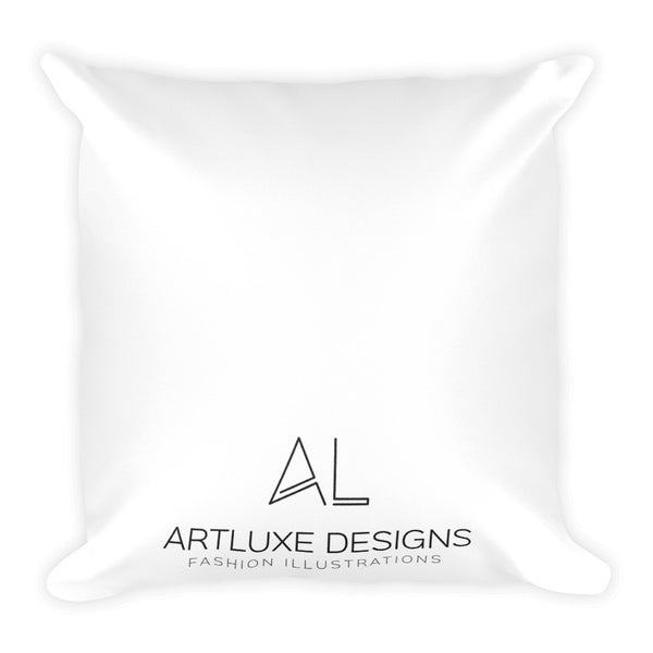 Balloon Party Square Pillow
