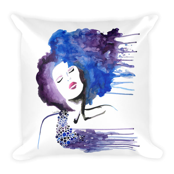 Beauty Rush Square Pillow