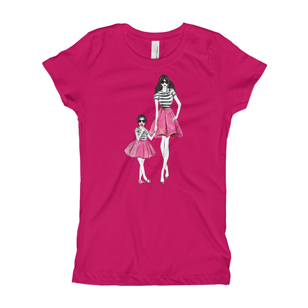 Mom and Me Girl's T-Shirt