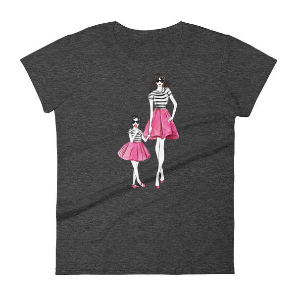 Mom and Me Women's short sleeve t-shirt