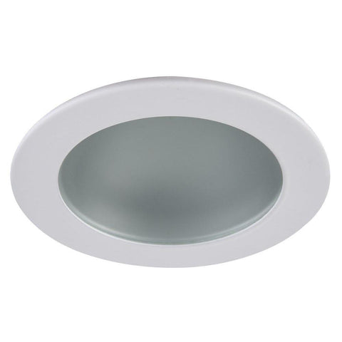 "Recessed 3"" Round High Hat LED Lighting Fixture - New Construction Housing with Adjustable Trim & Bulb - Mega Supply Store"