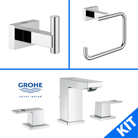 Grohe Eurocube 40511000 40507001 20370000 Bathroom Faucet / Accessory Kit - Mega Supply Store - 1