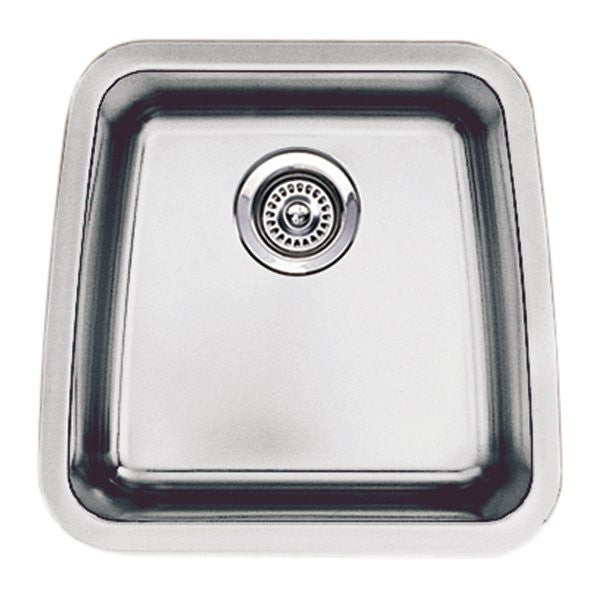 Blanco 440105 Performa Small Bar Bowl Single Basin Kitchen Sink, Stainless  Steel