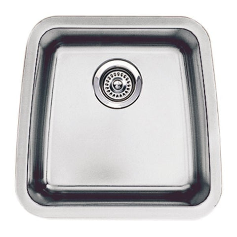 Blanco 440105 Performa Small Bar Bowl Single Basin Kitchen Sink, Stainless Steel - Mega Supply Store - 2