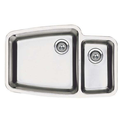 Blanco 440115 Performa Double Basin Stainless Steel Kitchen Sink, Satin (alt SKU: 513633) - Mega Supply Store - 1
