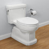 TOTO MS974224CEFG#01 Eco Guinevere One-Piece Toilet, 1.28 GPF, Elongated Bowl | Cotton/White - Mega Supply Store - 1