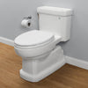 TOTO MS974224CEFG#01 Eco Guinevere One-Piece Toilet, 1.28 GPF, Elongated Bowl | Cotton/White - Mega Supply Store - 2