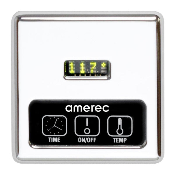 Amerec K60-CP 9101-101 Digital Control & Steam Head Polished Chrome - Mega Supply Store